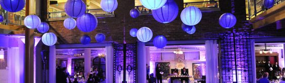 Architectural Artifacts Wedding Lighting