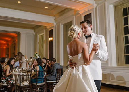 First Dance at a Chicago History Museum Wedding