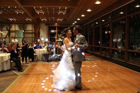 First Dance at the Oak Brook Hyatt Lodge