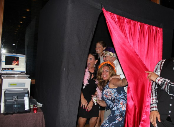 Posting in the MDM Photo Booth at the Oak Brook Hyatt Lodge
