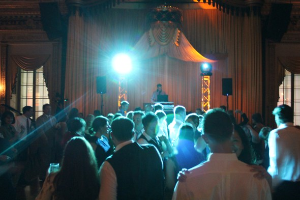 Chicago Wedding DJ at the Palmer House Wedding