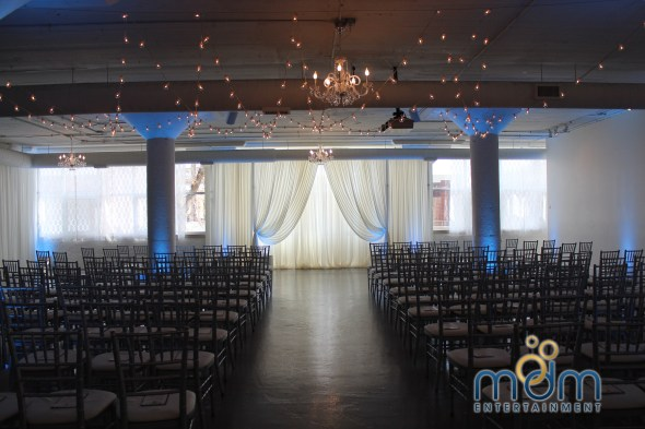 Room 1520 Wedding Ceremony Drape