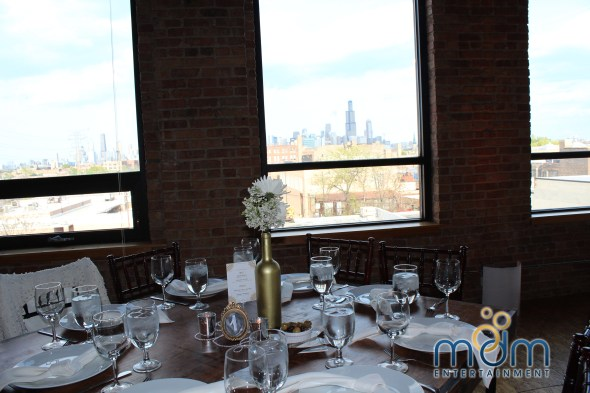 View at Kitchen Chicago and City View Lofts Wedding