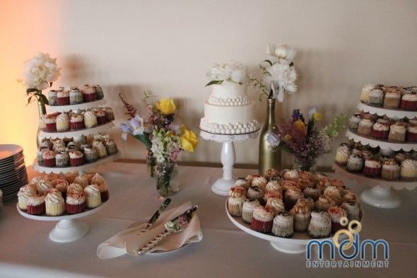 Chicago Cupcakes at Kitchen Chicago and City View Lofts Wedding