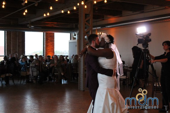 First Dance at Kitchen Chicago and City View Lofts Wedding