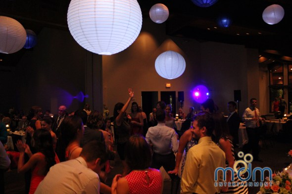 Chicago Wedding DJ Dance Floor at White Pines Wedding