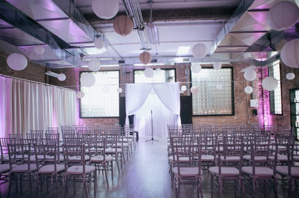 Chicago Loft Wedding Venue Floating World Gallery Ceremony