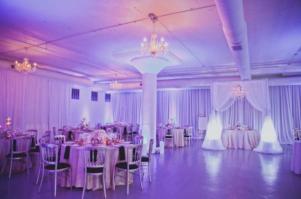 Room 1520 Wedding Lighting