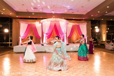 Dance Routine at an Indian Wedding