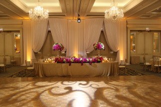 Entry Drape at Four Seasons Chicago Wedding