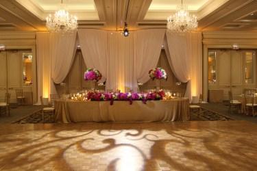 Entry Drape at Four Seasons Chicago Wedding