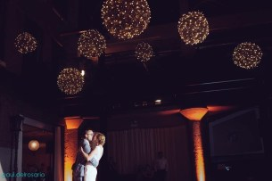 Grapevine Balls at an Architectural Artifacts Wedding
