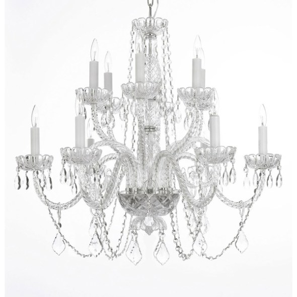 36 Inch Crystal Wedding Chandeliers