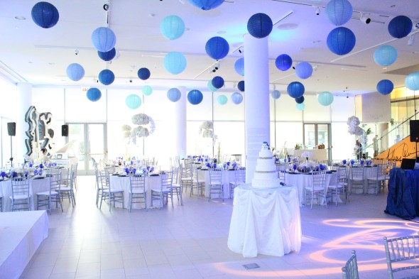 National Hellenic Museum Wedding Decor