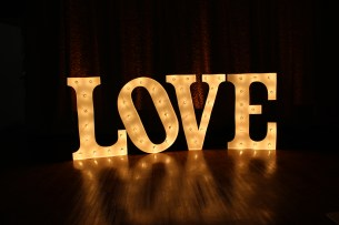 Marquee Letters LOVE Sign