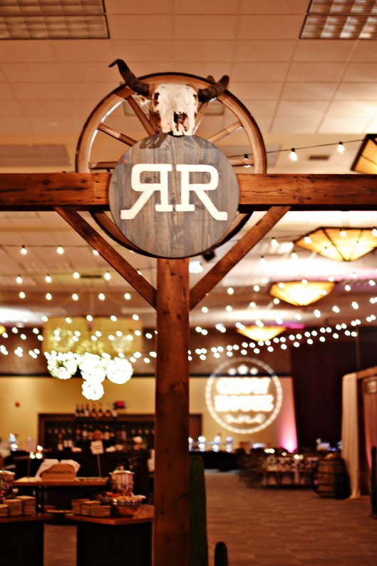 Western Themed Corporate Event Decor 1
