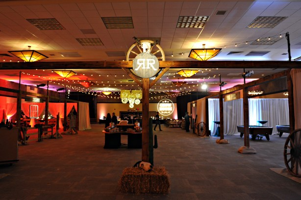 Western Themed Corporate Event Decor 3