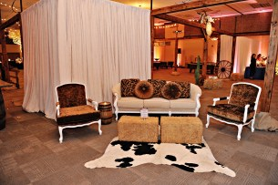 Western Themed Corporate Event Decor 4