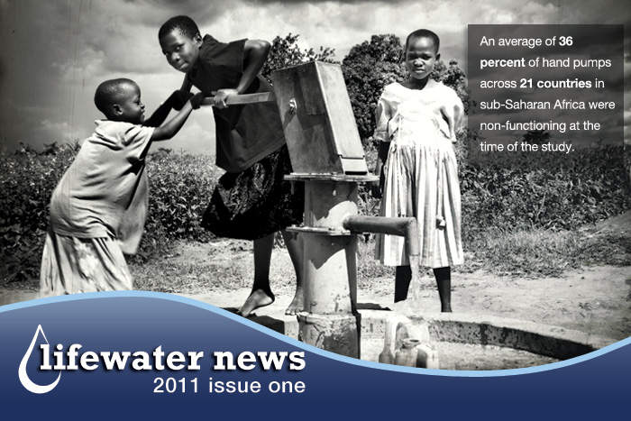 Lifewater news clip