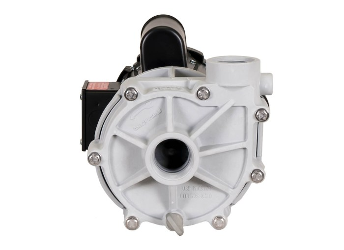 Sequence 1000 Pump with black Marathon Motor front view