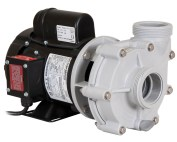 Sequence 4000 Pump with black Marathon Motor left angle view