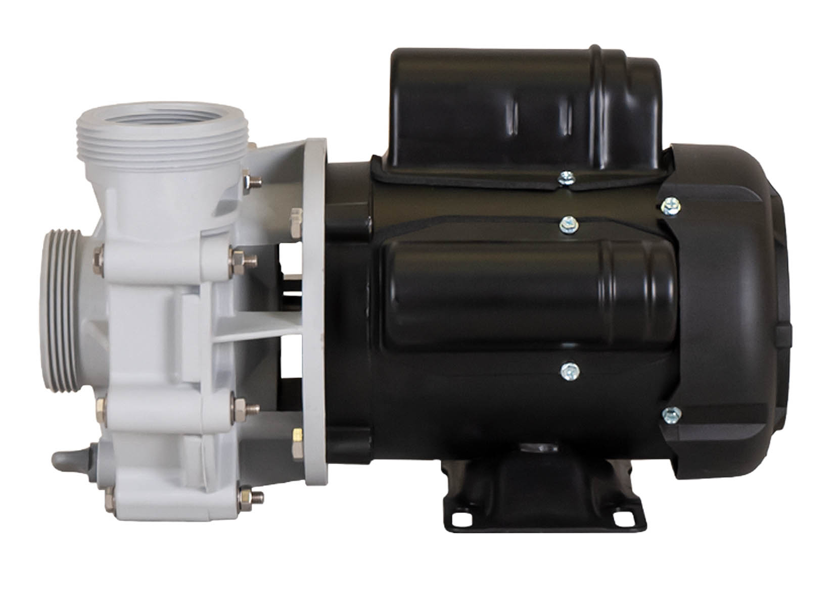 Sequence 4000 Pump with black Marathon Motor right side view