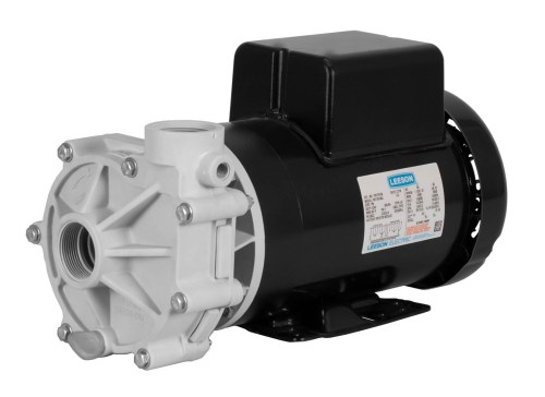Sequence Power 1000 with black Leeson Motor right angle view