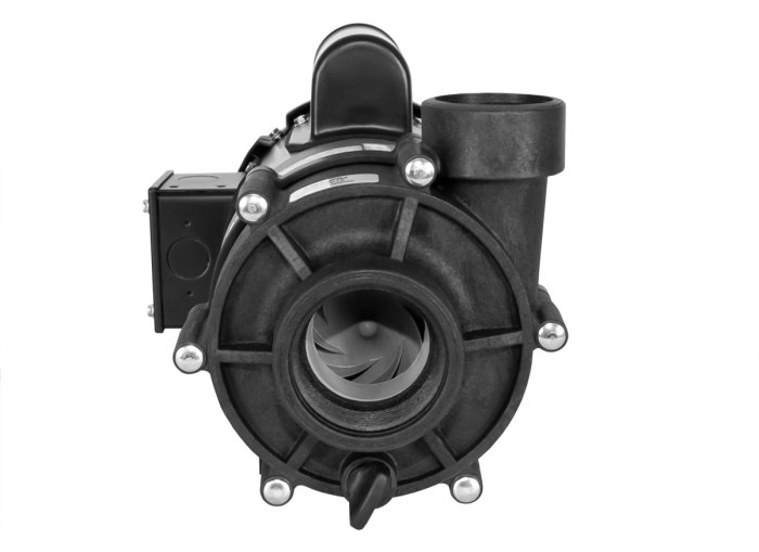 ValuFlo 750 Pump with black Marathon Motor front view