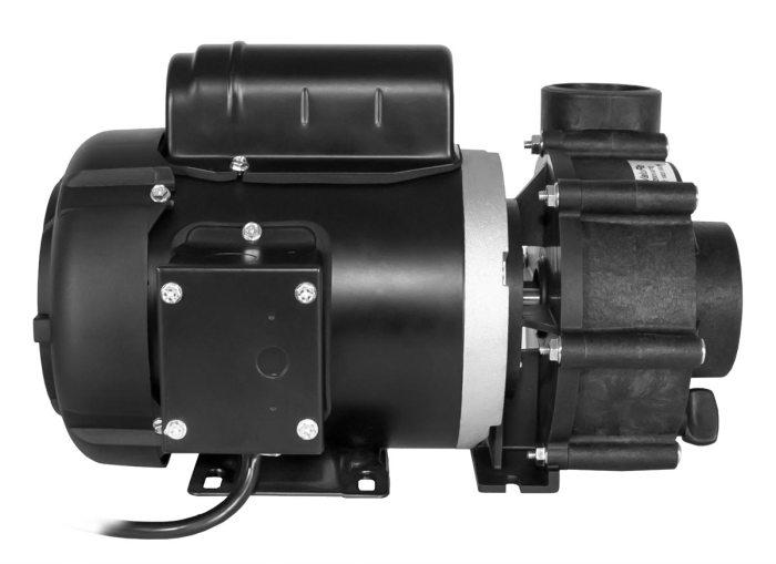 ValuFlo 750 Pump with black Marathon Motor left side view