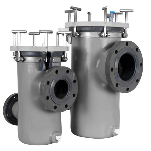 MDM 4x3 and 6x4 Strainer Baskets and Priming Pots