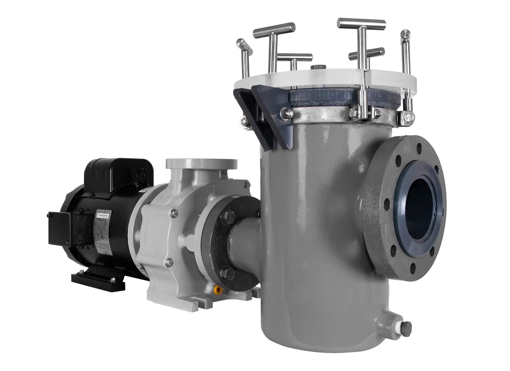 Sequence Titan Pump with Fluidtrol Strainer Basket