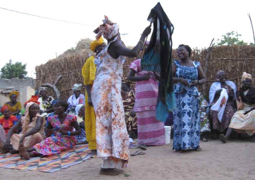 Soirée festive et dansante à N'Diaffate 19.12.14 - 03