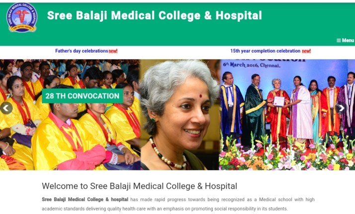 Sree Balaji medical college