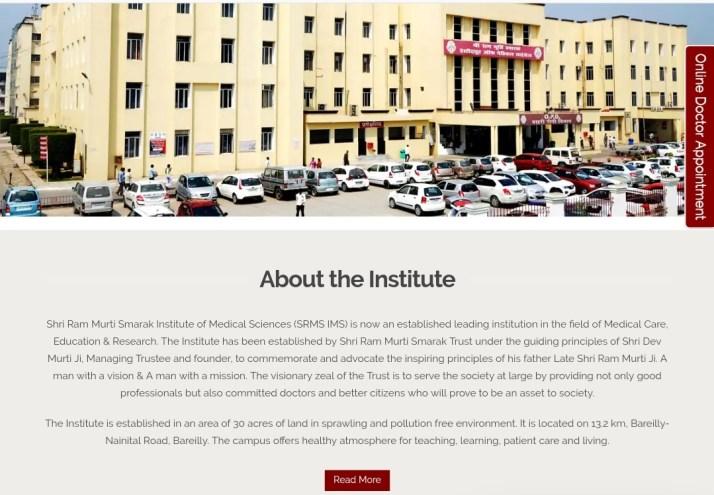 Ram Murti Smarak Institute of Medical Sciences