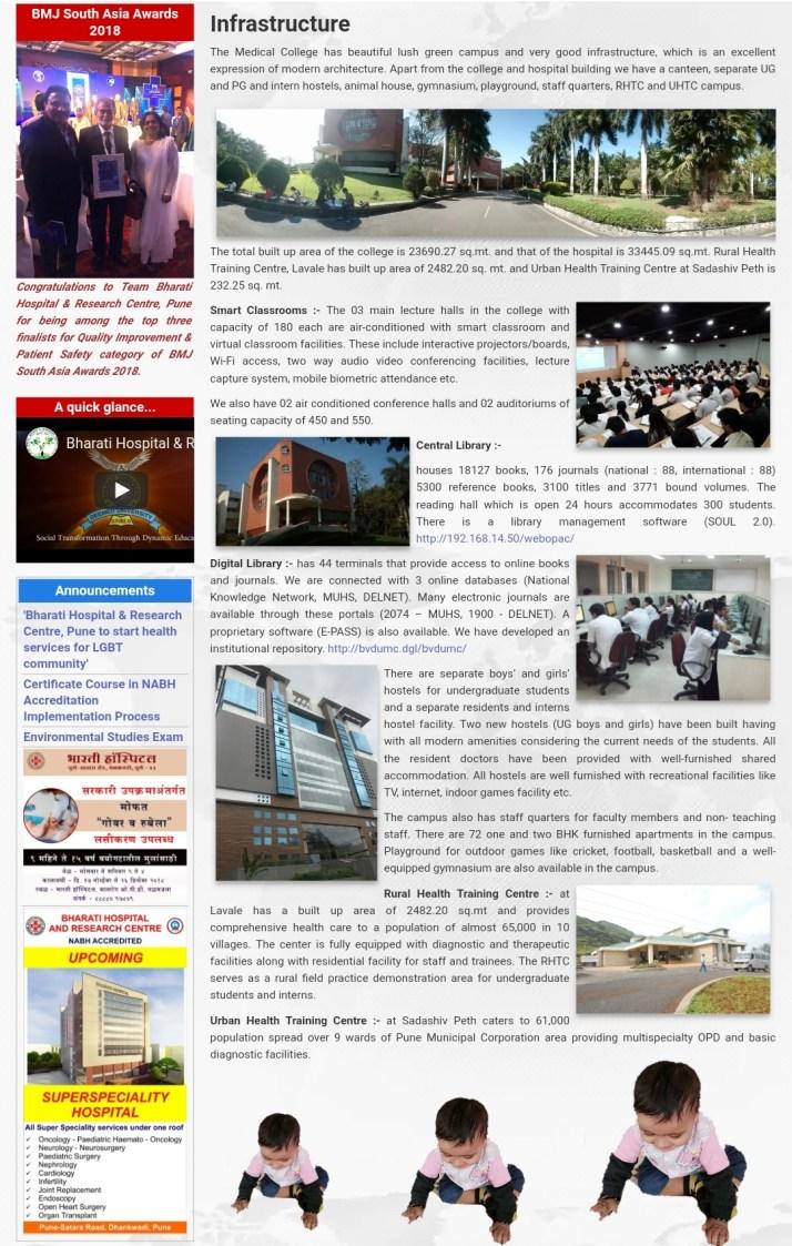 Bharati Vidyapeeth Medical College Pune admission
