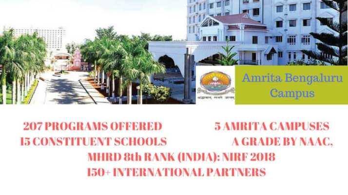 Amrita University bengaluru