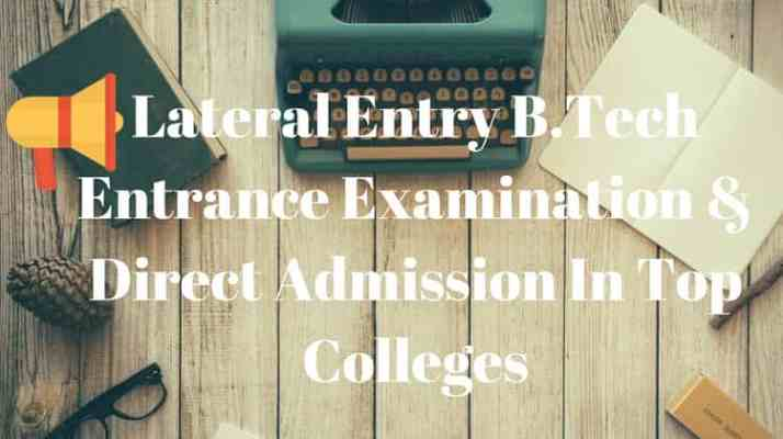 Direct Second Year Engineering Admission