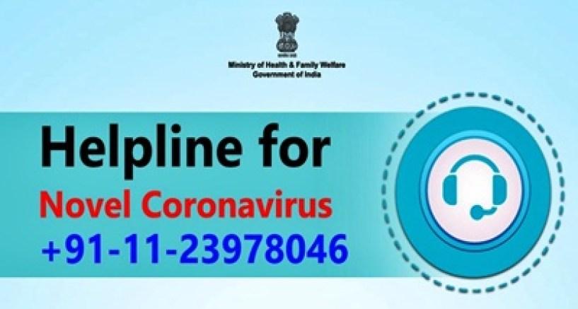 Helpline for Novel Coronavirus