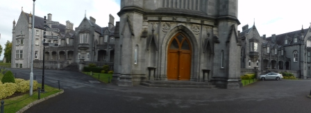 Panoramic view of college (unless I stood a long way back the panoramic lens on my camera wouldn't go to the top of the mid section so see additional photo)