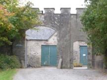 Entry to maintenance area - was likely the stables