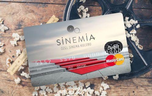 Sinemia'nın kartı