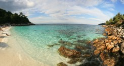 Marble Beach - Saliara Beach, Makryammos