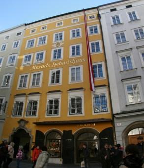 Mozart, casa natală