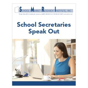 School Secretary 2018 report cover thumbnail