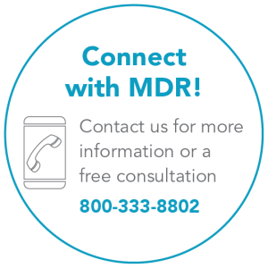 Connect with MDR 800-333-8802