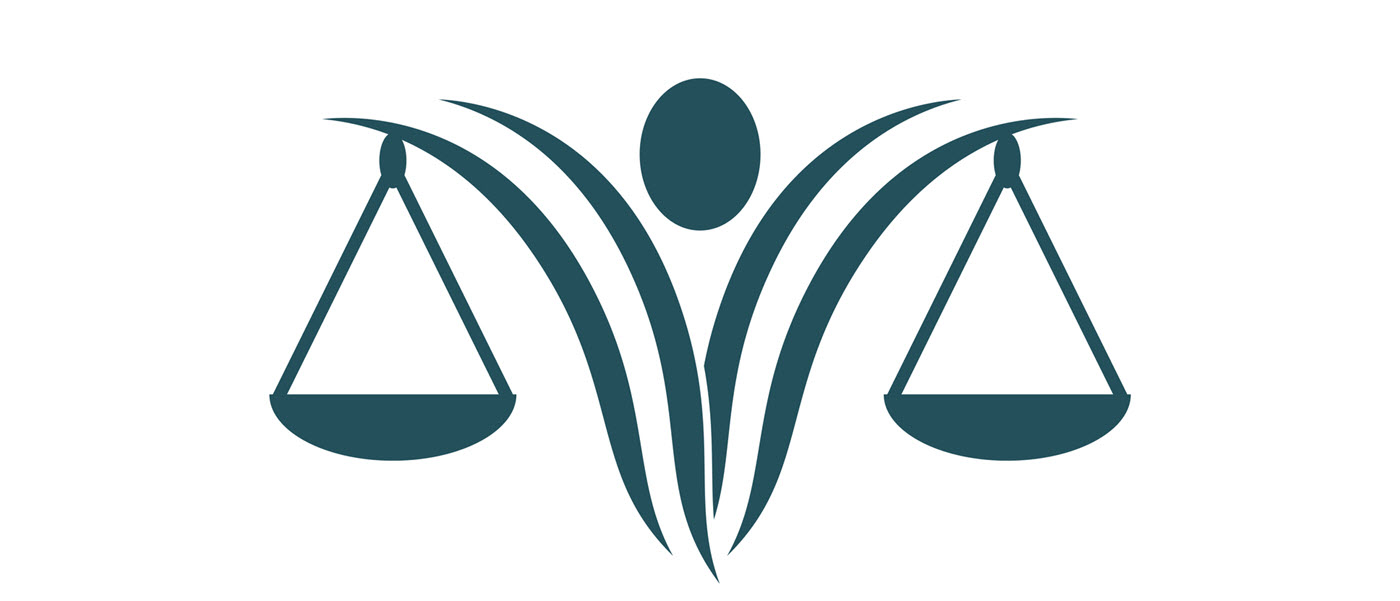 abstract scales of justice illustration