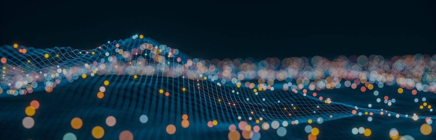 abstract data illustration