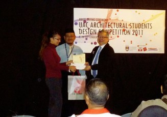 UAC Architectural Students Design Competition 2011 (Part 1) Prize giving Ceremony