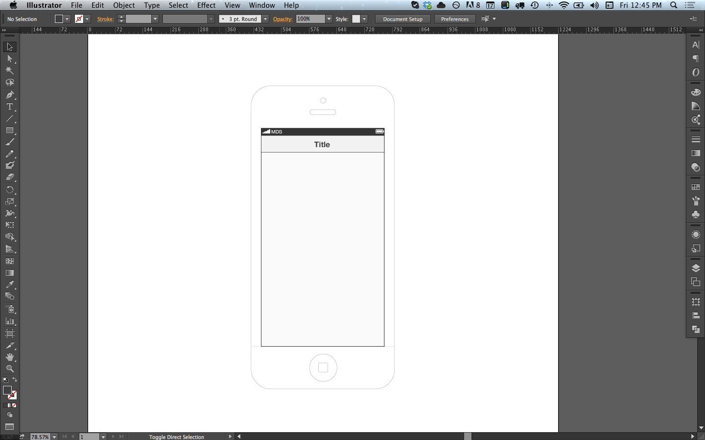 Wireframing With Illustrator and InDesign A Clean Slate