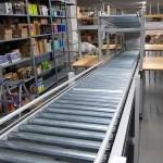 Sipariş Hazırlama Sistemi Avare Rulolu Konveyör